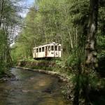 Toeristische tram door de Ardense natuur